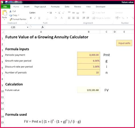 future value excel template future value excel template image collections free