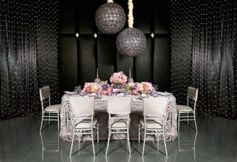 coco chanel inspired wedding decor photo shoot junebug weddings