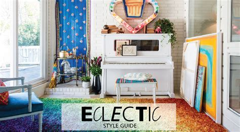 interior design guide interior design style guide eclectic furniture hm etc