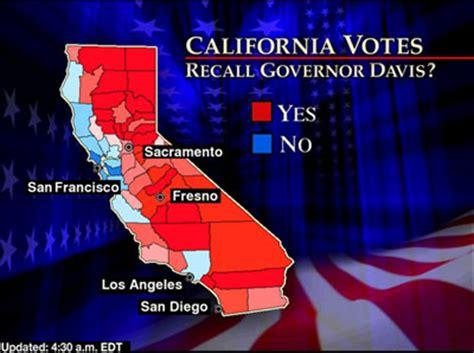 cnn election 2003 california recall