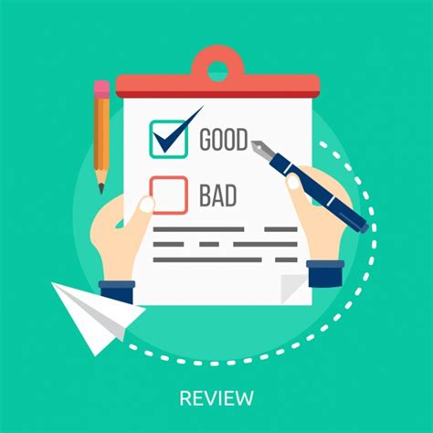 design review icon review background design vector free download