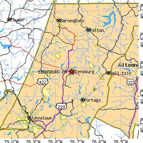 Ebensburg Pa ebensburg pennsylvania pa population data races housing economy