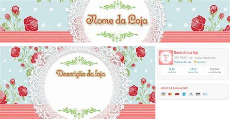 kit layout loja divitae 04 banner facebook loja de banner fachada perfil vendido artecompany elo7