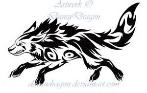 tribal mightyena tattoo by dansudragon on deviantart
