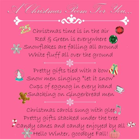 search results for cristmas poem calendar 2015