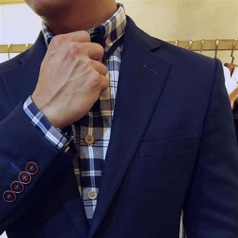 blue suit patterned shirt 25 cool checkered shirt ideas a casual wear for men who