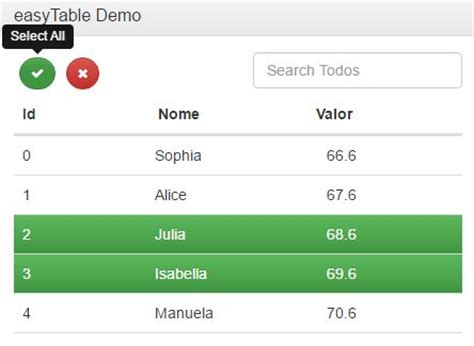 data table plugin live search through table rows jquery and regex