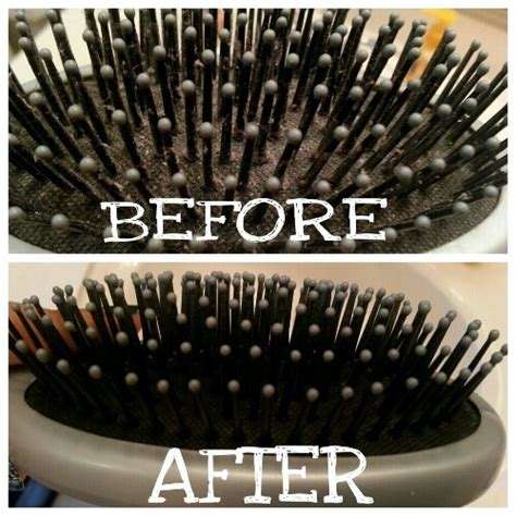 Cleaning Hair From by How To Clean Hair Brushes Anithamallya S