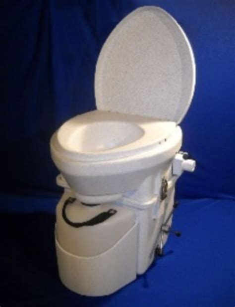 Composting Toilet For Boat by Nature S Composting Toilet Spider Handle White