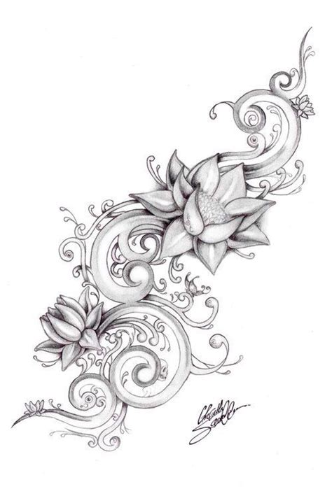 tattoo designs lotus flower flower stencils flowers ideas for review