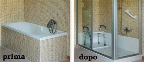 doccia al posto della vasca da bagno prezzi trasformazione della vasca in un box doccia confronta