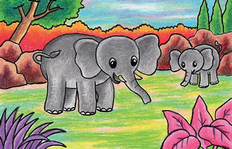 tutorial menggambar gajah cara mudah menggambar gajah cikal aksara