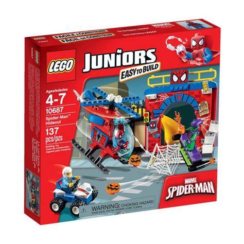 Lego 10687 Spider Hideout 1 lego 10687 spider hideout lego 174 sets juniors