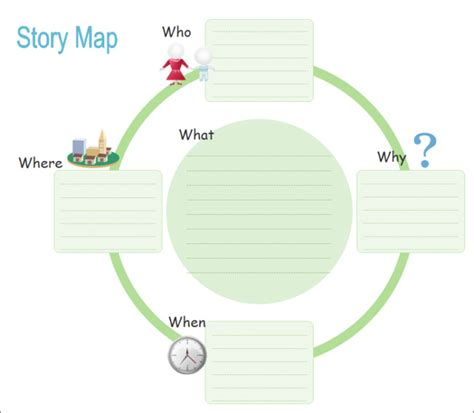 6 activity map templates free word pdf format download