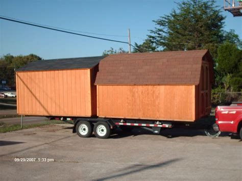 Shed Moving Trailer by Shed Moving