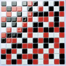Ordinary Red Tiles For Kitchen Backsplash #1: Tropical-mosaic-tile.jpg