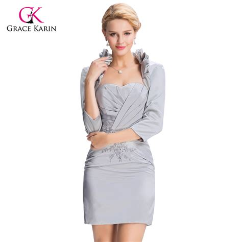 September Sleeve Dress By Grace by 2017 Gray Evening Dresses With Sleeves