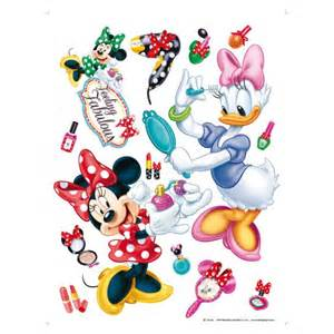 Giant Wallpaper Mural Collection disney minnie and daisy make up giant stickers great
