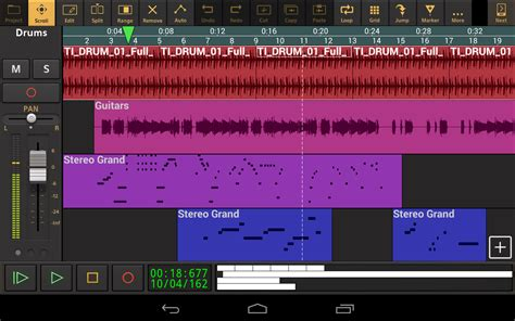 android recording studio audio evolution mobile studio android apps on play