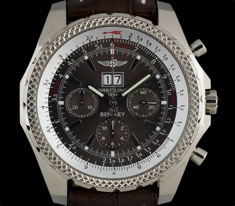 white gold bentley breitling 18k white gold bentley motors 6 75 chronograph