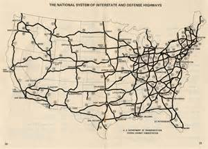 usa map states roads interstate 82