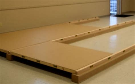 portable stage floor easy to assemble lightweight stronger