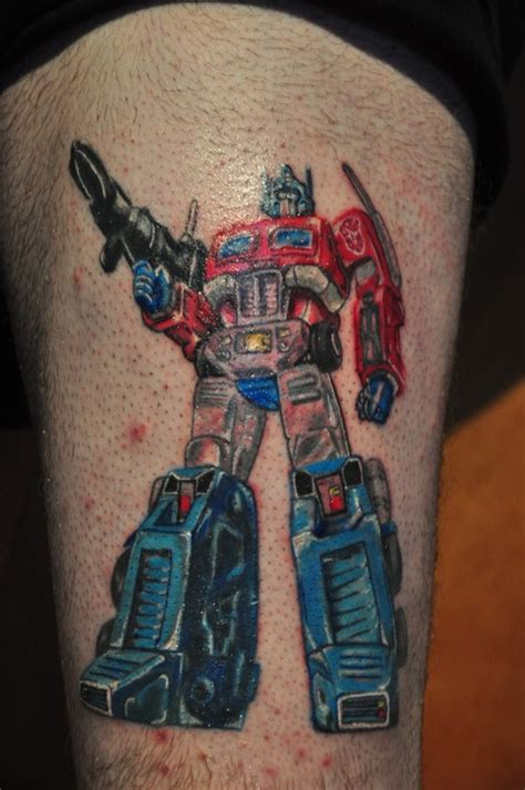 optimus prime tattoo optimus prime s optimus prime and