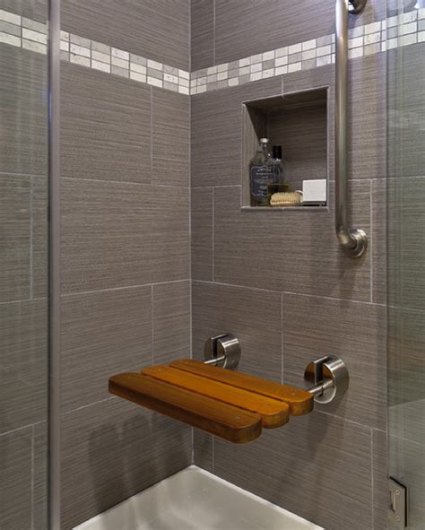 Storage Ideas For Bathrooms modern shower bench pollera org