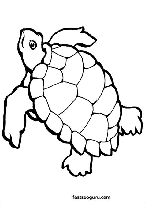 printable ocean animal coloring pages turtle ocean coloring page printable printable coloring