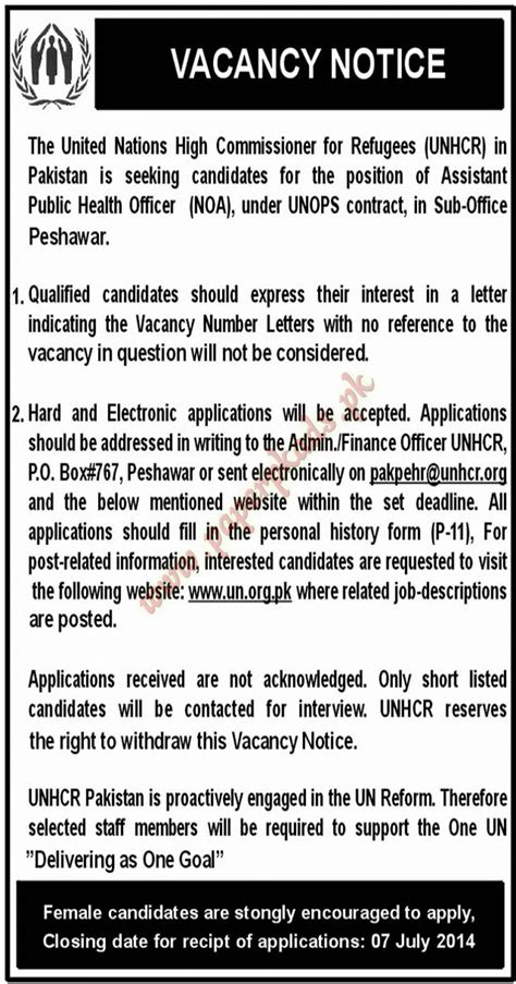 sle cv for united nations jobs united nations high commissioner jobs paperpk