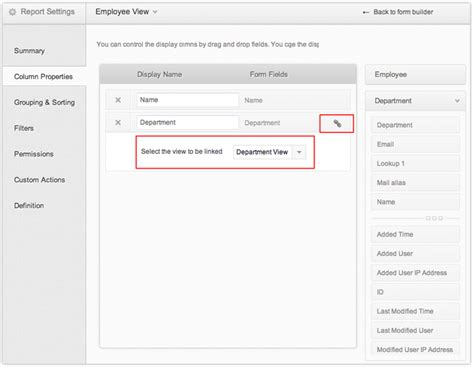 zoho creator templates create relationship between forms help zoho creator