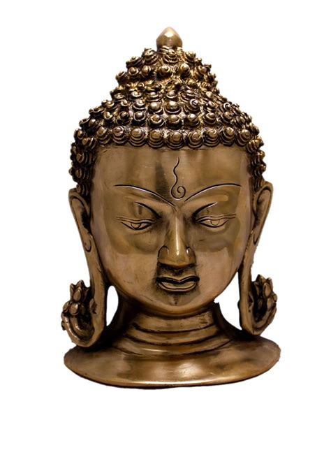 about indian wholesale sculpture statue handicraft and buy indian religious two tone lord buddha head brass idol