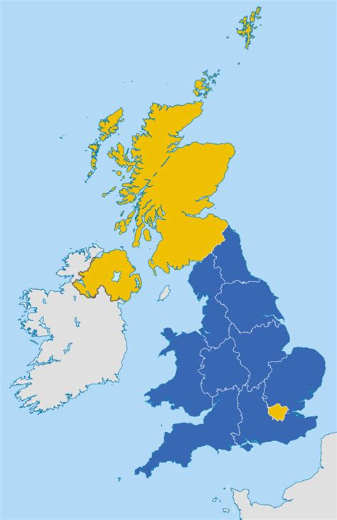 map uk eu referendum can a new rule trigger a second eu referendum petition 4