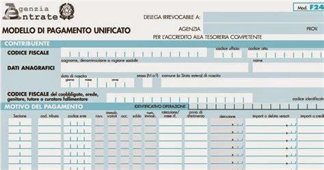 Pagare F24 In Banca by Pagare Le Tasse Col Modello F24 Semplificato Istruzioni