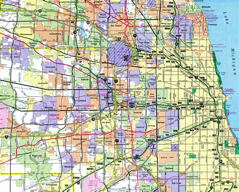 map of chicago road construction illinois construction map my