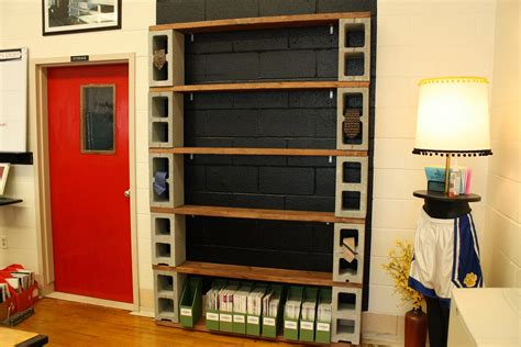 block bookshelves the decorative cinder blocks ideas for decor home