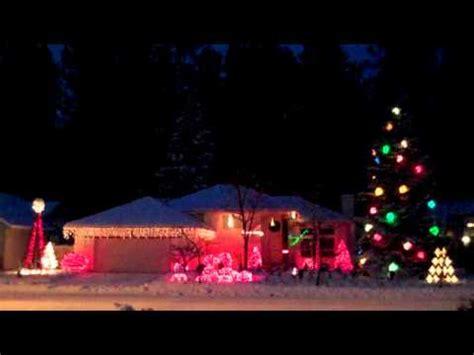 epic techno christmas lights sandstorm 2010 synthtopia
