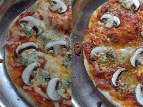 mushroom blue cheese stovetop pizza mushroom blue cheese stovetop pizza