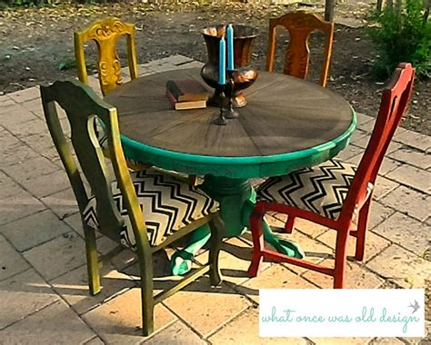 painted table and chairs painted table style rustic aged look painted