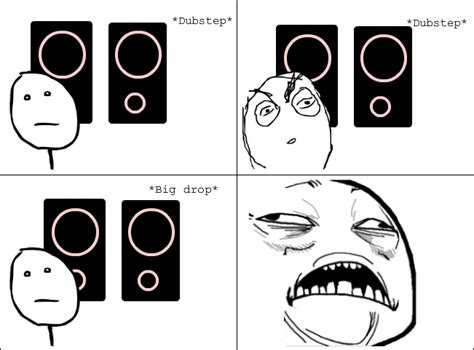 dubstep ragecomic png 651 215 481 dubstep jokes pinterest