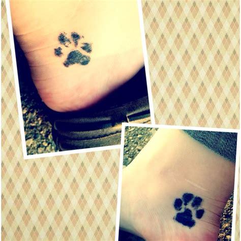 dog tattoo placement paw print placement tattoo ideas pinterest boston