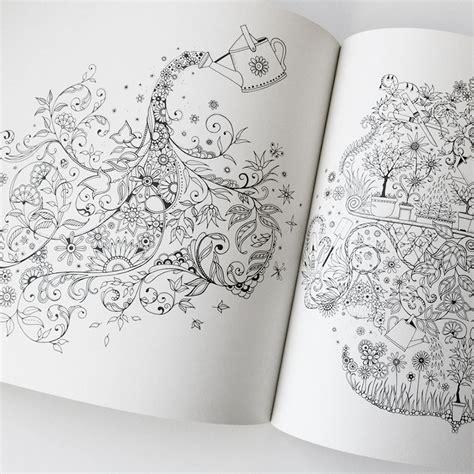 secret garden coloring book cover secret garden coloring book eco paper at vickerey