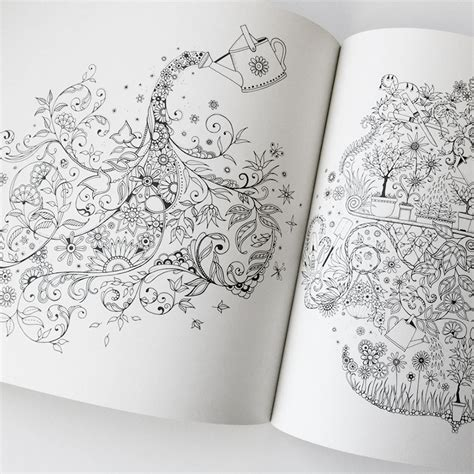 secret garden colouring book buzzfeed باغ مخفی فروشگاه کافه دیزاین