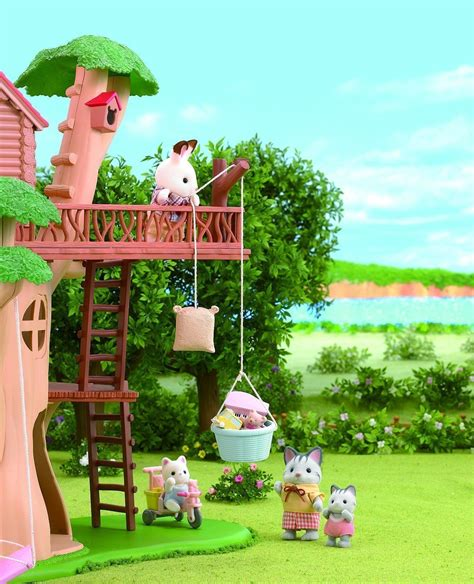 Sylfanian Tree House buy sylvanian families children s tree house