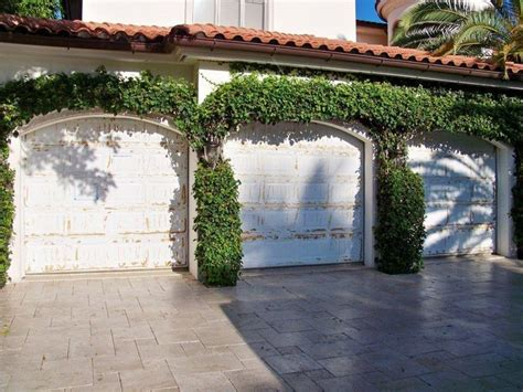 Taylors Garage by Before And After Garage Door Refacing Naples