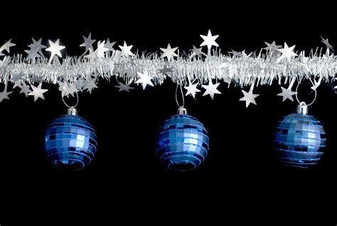can you still buy xmas tensil photo of tinsel and baubles free images
