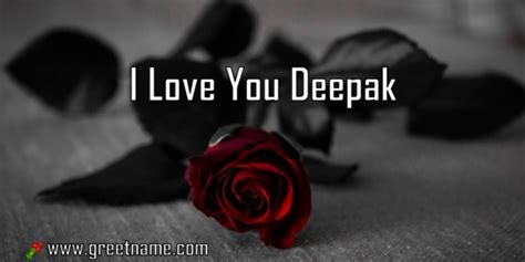 love  deepak rose flower greet