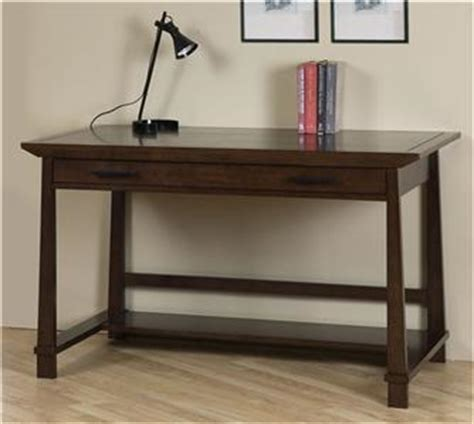 52 Inch Desk by 52 Inch Brown Rubberwood Writing Computer Desk