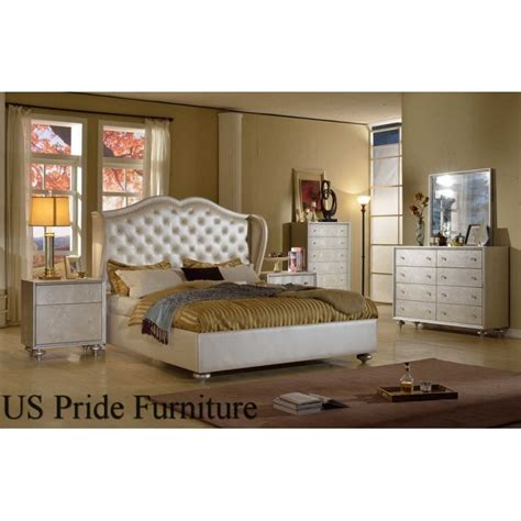 pearl bedroom furniture b8062 manhattan 4 piece pearl bedroom set