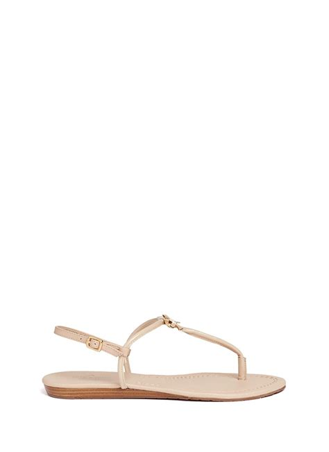 kate spade bow sandals kate spade tracie bow tstrap sandals in beige neutral and